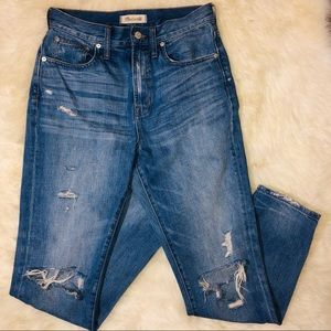 Madewell Womens Distressed Jeans Size 27